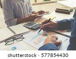 business concept. business...   Shutterstock . vector #577854430