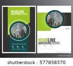 flyer cover business brochure... | Shutterstock .eps vector #577858570