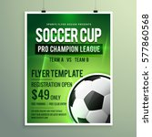 soccer league sports event... | Shutterstock .eps vector #577860568