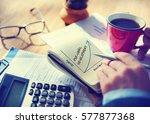 value personal development... | Shutterstock . vector #577877368