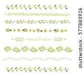 vector illustration set of...   Shutterstock .eps vector #577883926