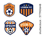 football badge and logo... | Shutterstock .eps vector #577903648