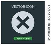 close vector icon | Shutterstock .eps vector #577904776