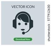 call center vector icon | Shutterstock .eps vector #577912630