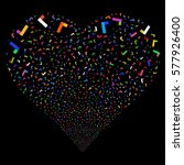yes fireworks with heart shape. ...