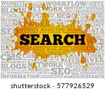 search word cloud collage ...   Shutterstock .eps vector #577926529