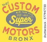vintage typography vector   t... | Shutterstock .eps vector #577947730