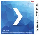 next arrow icon | Shutterstock .eps vector #577959970