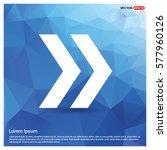 next arrow icon | Shutterstock .eps vector #577960126