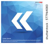 back icon | Shutterstock .eps vector #577964083