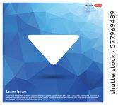 down arrow icon | Shutterstock .eps vector #577969489