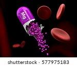 3d illustration of magnesium... | Shutterstock . vector #577975183