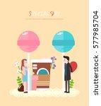love illustration | Shutterstock .eps vector #577985704