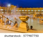 szechnyi thermal bath spa in... | Shutterstock . vector #577987750