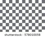 vector modern pattern checkered ... | Shutterstock .eps vector #578010058