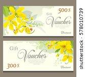 Gift Voucher Flower Of Thailand ...