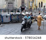 naples  italy  june 10  2015 ... | Shutterstock . vector #578016268