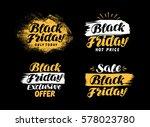 sale  black friday symbol.... | Shutterstock .eps vector #578023780
