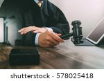justice and law concept.male... | Shutterstock . vector #578025418