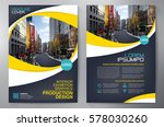 business brochure. flyer design.... | Shutterstock .eps vector #578030260