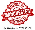 manchester. welcome to... | Shutterstock .eps vector #578033500