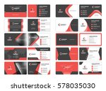 business card templates.... | Shutterstock .eps vector #578035030