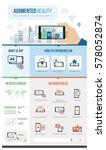 augmented reality development... | Shutterstock .eps vector #578052874