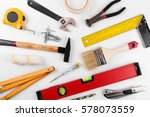 home improvement diy... | Shutterstock . vector #578073559