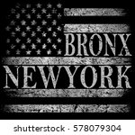 new york city  brooklyn.... | Shutterstock .eps vector #578079304