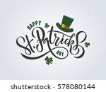 vector illustration of happy... | Shutterstock .eps vector #578080144