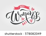 Happy Woman's Day Text As...