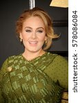 adele at the 59th grammy awards ... | Shutterstock . vector #578086084