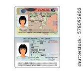 vector international open... | Shutterstock .eps vector #578092603