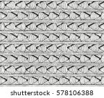seamless tribal pattern with... | Shutterstock .eps vector #578106388