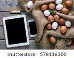 order online healthy natural... | Shutterstock . vector #578116300