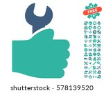 service hand pictograph with...   Shutterstock .eps vector #578139520