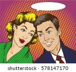 illustration in pop art style....   Shutterstock . vector #578147170