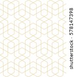 islamic geometric seamless... | Shutterstock .eps vector #578147398