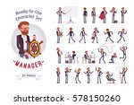 ready to use character set.... | Shutterstock .eps vector #578150260