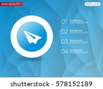 send or paper plane icon.... | Shutterstock .eps vector #578152189