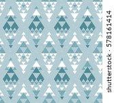 tribal navajo seamless pattern. ... | Shutterstock .eps vector #578161414