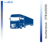 truck icon. lorry symbol | Shutterstock .eps vector #578165050