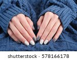 woman hands with beautiful... | Shutterstock . vector #578166178