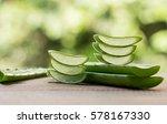 slice aloe vera  aloe...   Shutterstock . vector #578167330