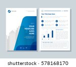 annual report  broshure  flyer  ... | Shutterstock .eps vector #578168170