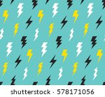 abstract thunder background in... | Shutterstock .eps vector #578171056