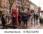 london  england   december 25 ... | Shutterstock . vector #578221690