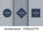 blue line seamless pattern... | Shutterstock .eps vector #578222770