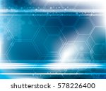 abstract background technology... | Shutterstock .eps vector #578226400