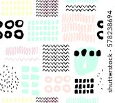 abstract seamless pattern with...   Shutterstock .eps vector #578238694